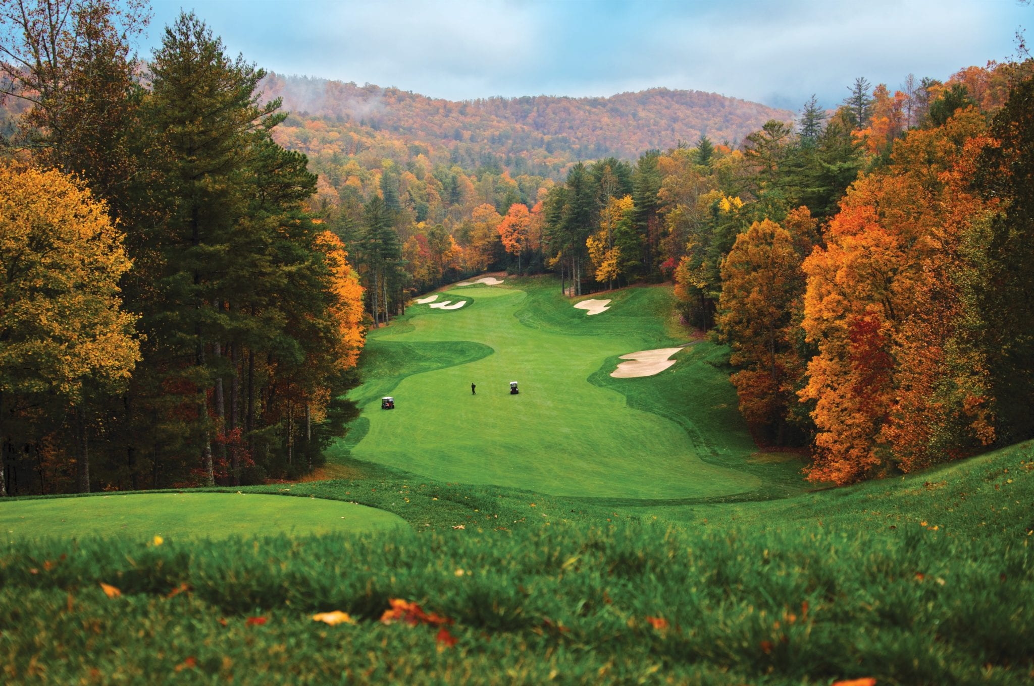 mountain golf course in nc