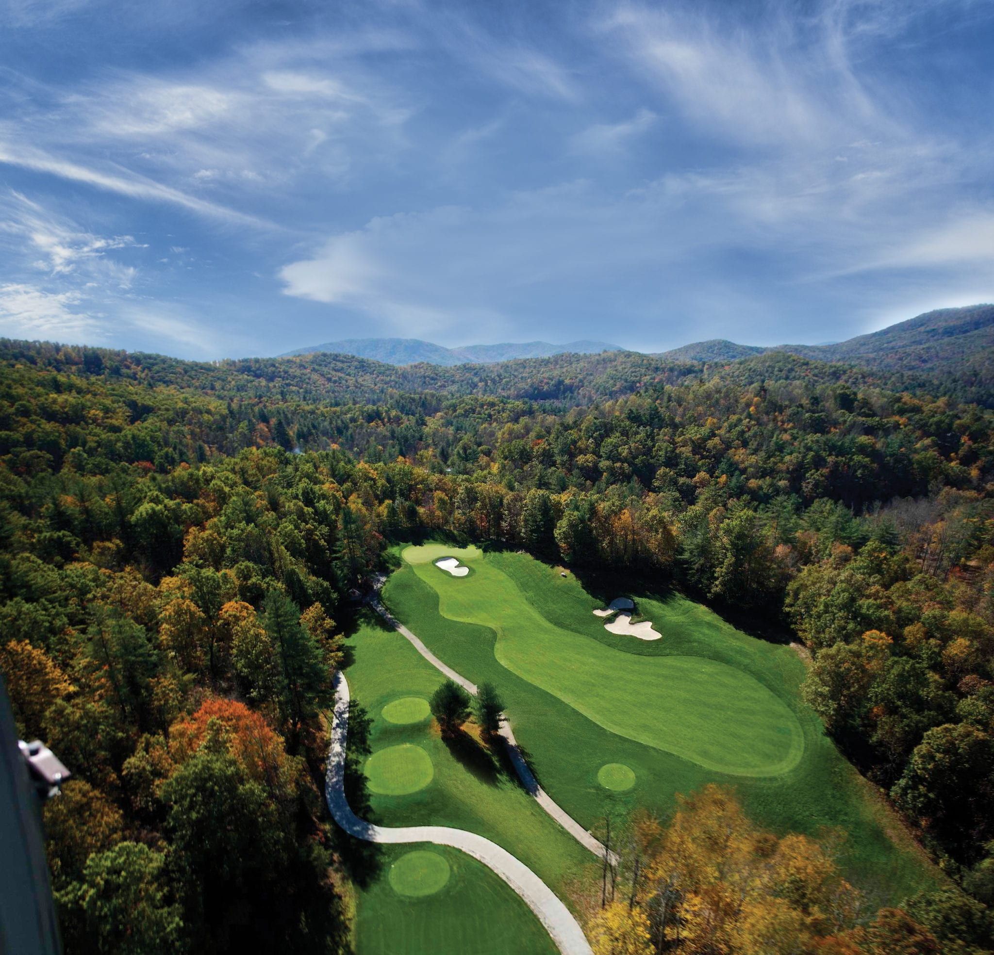 private mountain golf course