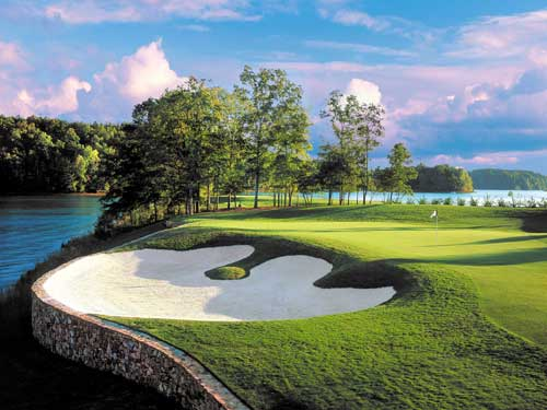 the reserve at lake keowee golf course