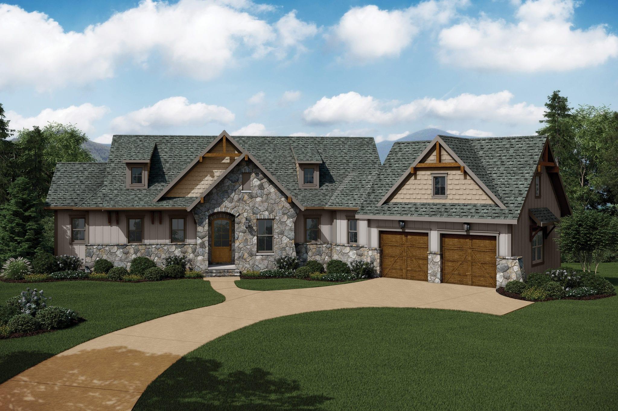 Golf Ridge Cottages at Mountain Park_Arthur Rutenberg Homes_Sierra1569F