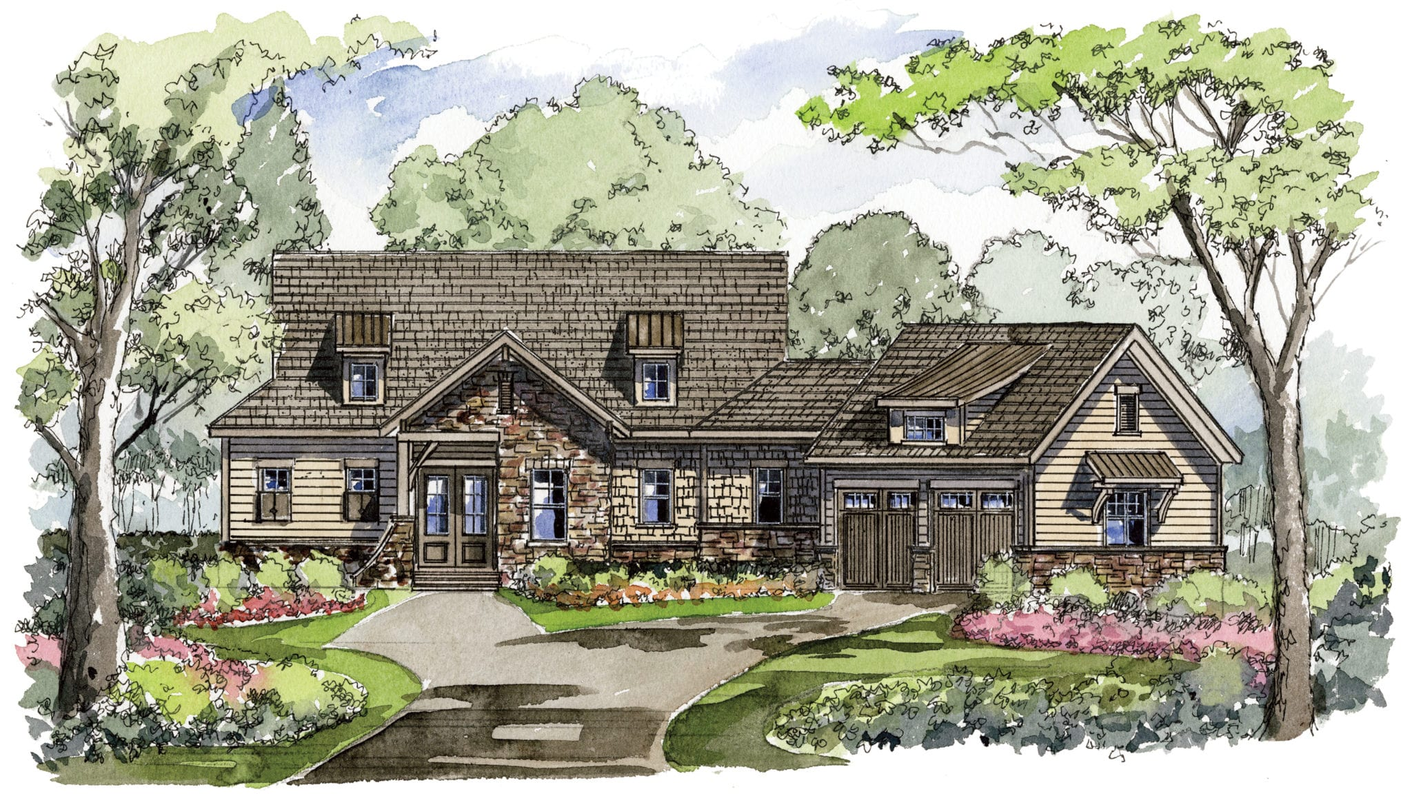 Golf Ridge Cottages at Mountain Park_Arthur Rutenberg Homes_Wyndsor1360F